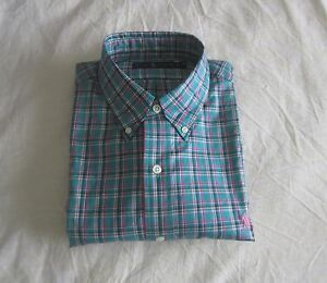 Polo Ralph Lauren Classic Fit Plaid Button Down Men's Shirt Multi L MSRP $98 NWT