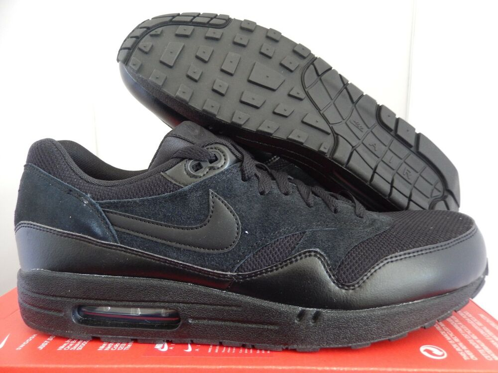 NIKE AIR MAX 1 ESSENTIAL ALL noir SZ 11 [537383-020]
