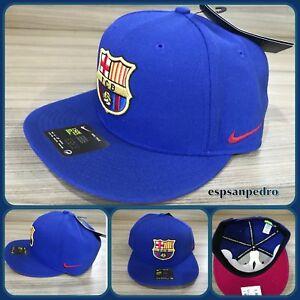 NIKE FC BARCELONA TRUE SNAPBACK PREMIUM One Size NTW 686241 455  100 ... 9d29ed897534