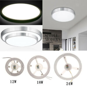 info for 104f1 d95ba Details about Super Bright LED Ceiling Light Fixture Panel Lighting  Replacement 12/18/24W
