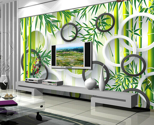3D Bamboo 4009 Wallpaper Murals Wall Print Wallpaper Mural AJ WALL UK Carly