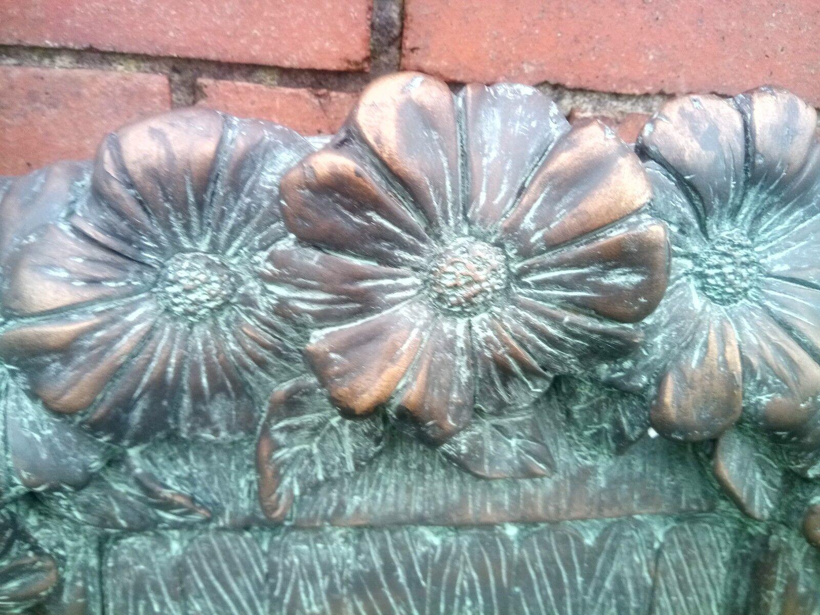 Large 51cm Fairy Door Garden Ornament Ornament Ornament Statue Bronze Effect Frost Proof 740ae9