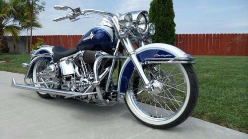 "Motorcycle Front 18/"" Slim Back 17/"" Wide Pair Custom Whitewall Portawall Set x4"