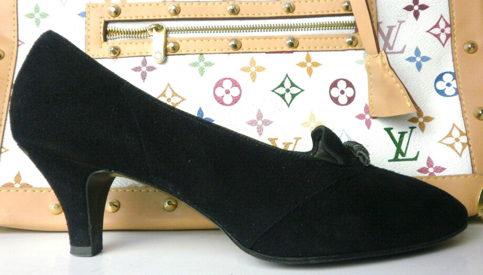 Salamander COMOD Damen Damen Damen Pumps 50er TRUE VINTAGE 50s schwarz Fußbett EUR 37 UK 4,5 37fc6d