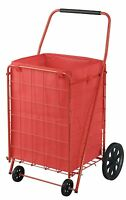 Sandusky Fsc4021 Folding Shopping Cart, 110 Lbs Capacity , New, Free Shipping on sale
