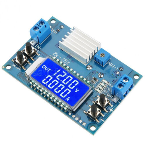 5A DC-DC Boost Buck Step-down Constant Voltage Current LCD Power Supply Module