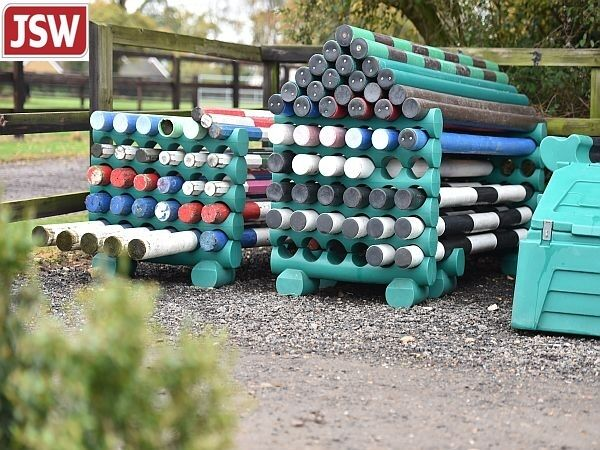 SHOW JUMP POLE TIDIES - Keep your poles off the ground & tidy - Bases & Tops