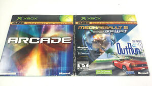 Xbox-Live-Mechassault-2-Lone-Wolf-amp-Outrun-2-Demos-and-Arcade-Ms-PAC-MAN-2004