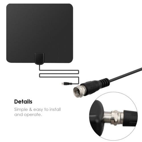 2018 Indoor Amplified HDTV TV HD Antenna 50 Miles Digital TV Antena Long Range