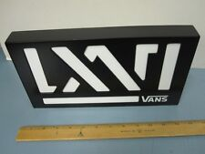 VANS skateboard snowboard BMX surf dealer LXVI counter display  NEW old stock