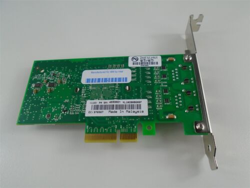 IBM  46K6601 1GB 2 Port PCIe Ethernet 10//100//1000 Base TX IBM 5767 1x