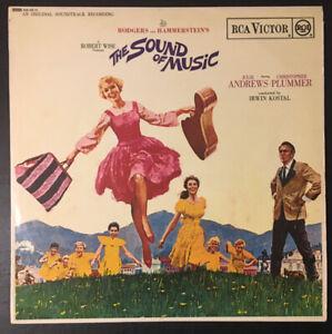 THE-SOUND-OF-MUSIC-Vinyl-OST-12-034-LP-w-Insert-1965-SB-6616-VG-VG