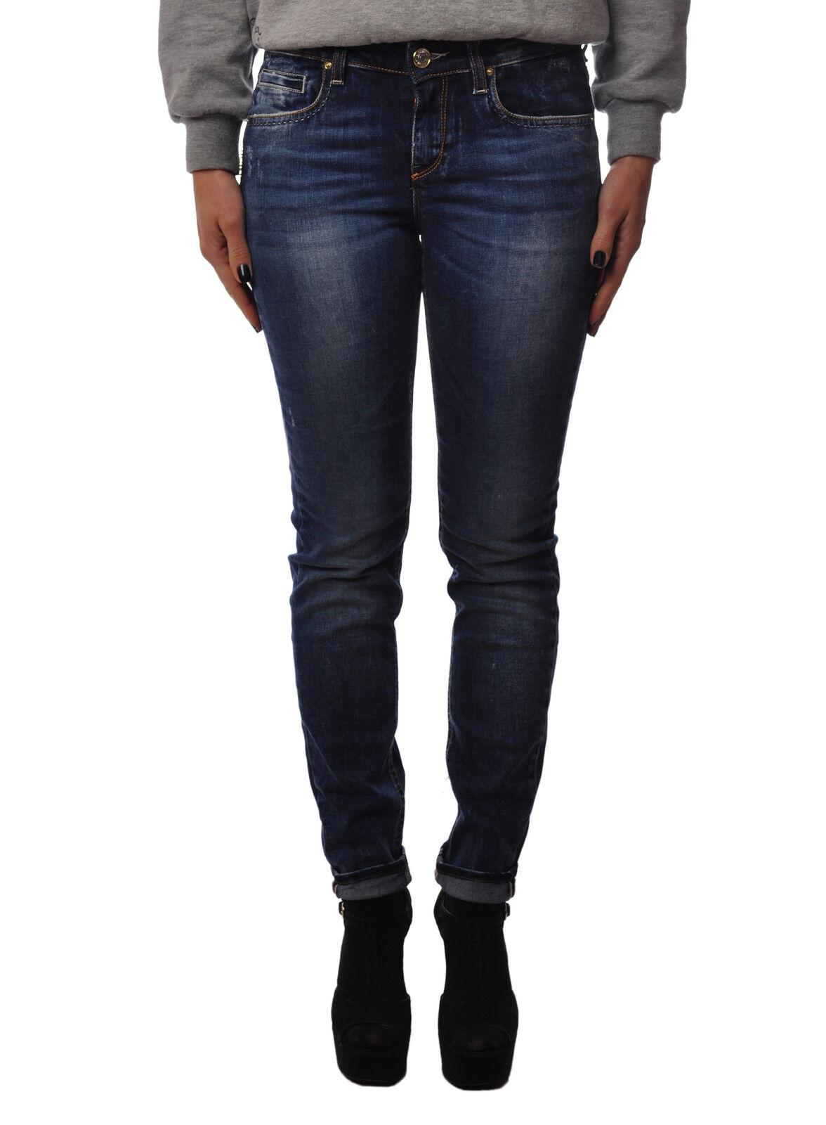 Latinò  -  Pants - Female - Denim - 3422309A183726