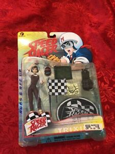 Details about SPEED RACER SERIES ONE TRIXIE WITH ACCESSORIES AND SPEED  RACER BASE STAND
