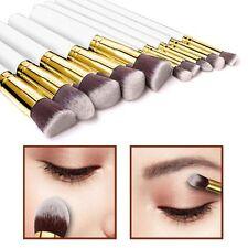 10pcs stile Kabuki Make Up Brush Set Cipria Fondazione Fard-Style 4