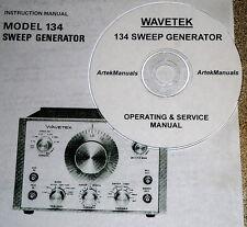 Wavetek 134 Sweep Generator Operatingservice Manual Withschematics