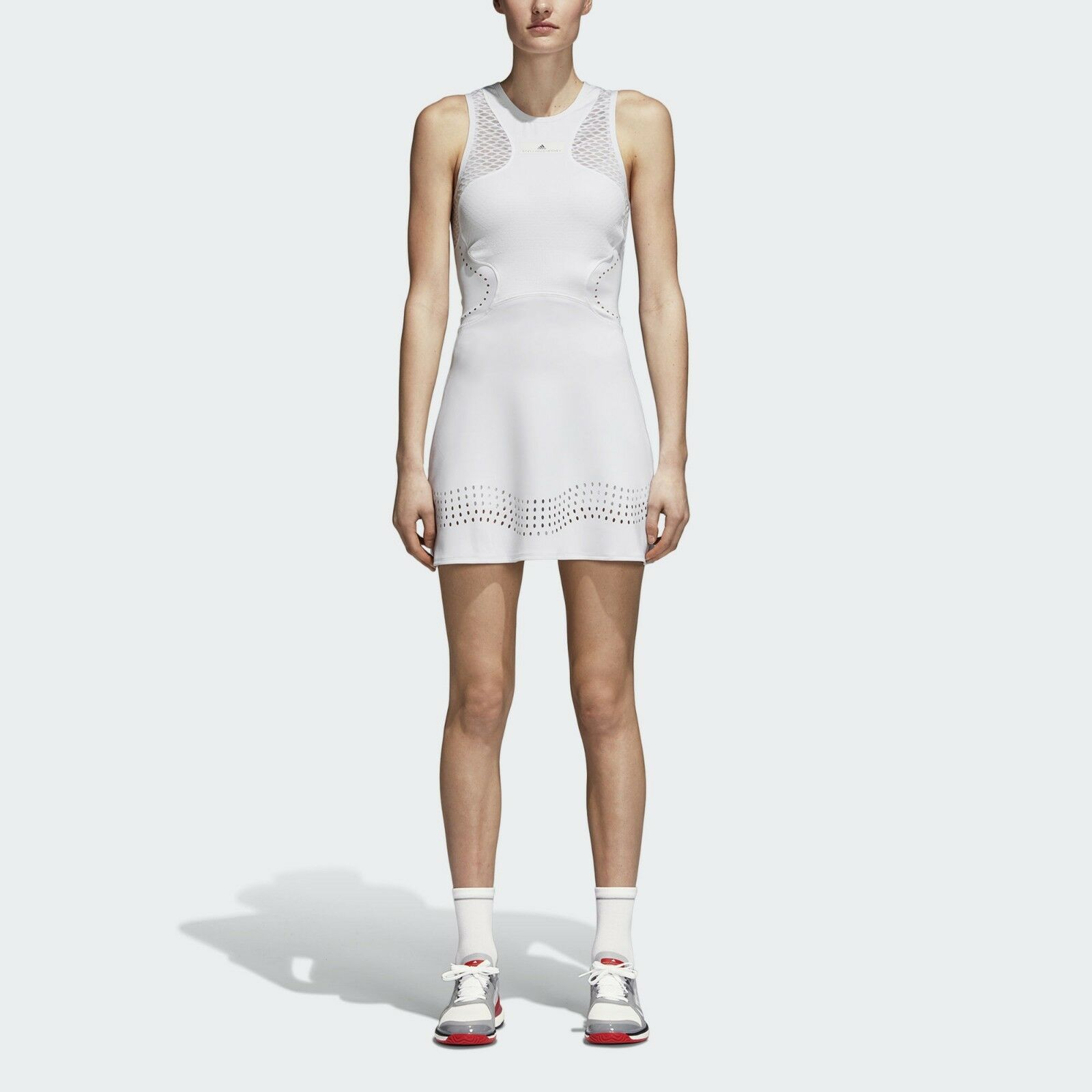STELLA McCARTNEY X Adidas CY1904 Breathable TENNIS DRESS & Shorts WHITE ( M )