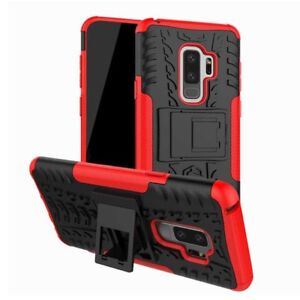 Carcasa-hibrida-2-piezas-Exterior-Funda-Roja-para-Samsung-Galaxy-S9-Plus-g965f