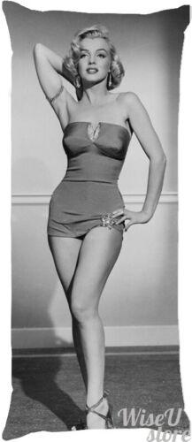 Marilyn Monroe Dakimakura Full Body Pillow case Pillowcase Cover