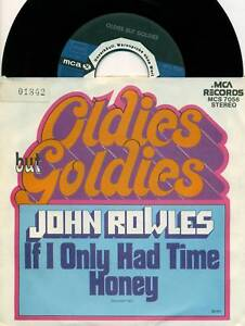 JOHN-ROWLES-If-I-Only-Had-Time-Honey-7-034-Promo-S5334