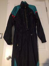 Descente Ski Snow Full Body Jump Suit hoodie Green Navy Black Men's L
