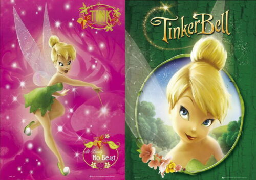 TINKERBELL Peter Pan 40cm x 50cm 2 Mini Posters New *