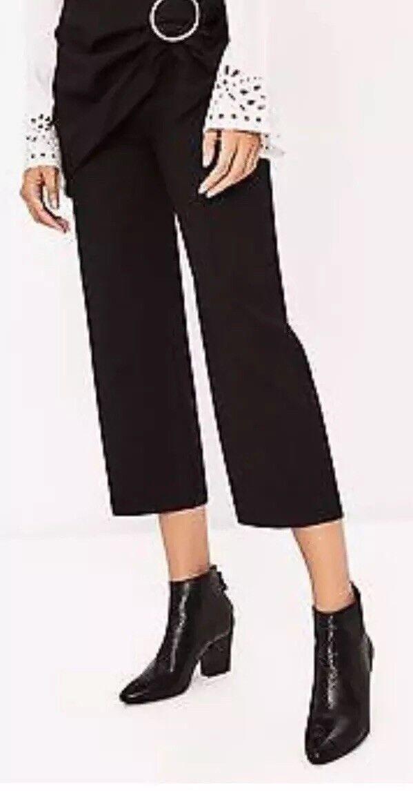 Zara Cuero Negro botas al Tobillo 41 8Uk 8Uk 8Uk  bienvenido a comprar
