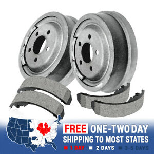 4 Pieces Included For Both Left and Right With Two Years Warranty 2008 Fits Nissan Versa Rear Drum Brake Shoe