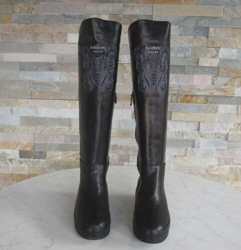 Neuf Fourrure 36 Baldinini Trend 148334 Autrefois Noir Chaussures Bottes 5 5IH8wHq