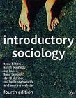 Introductory Sociology by Professor Andrew Webster, Michelle Stanworth, David Skinner, Tony Bilton, Kevin Bonnett, Tony Lawson, Pip Jones (Paperback, 2002)