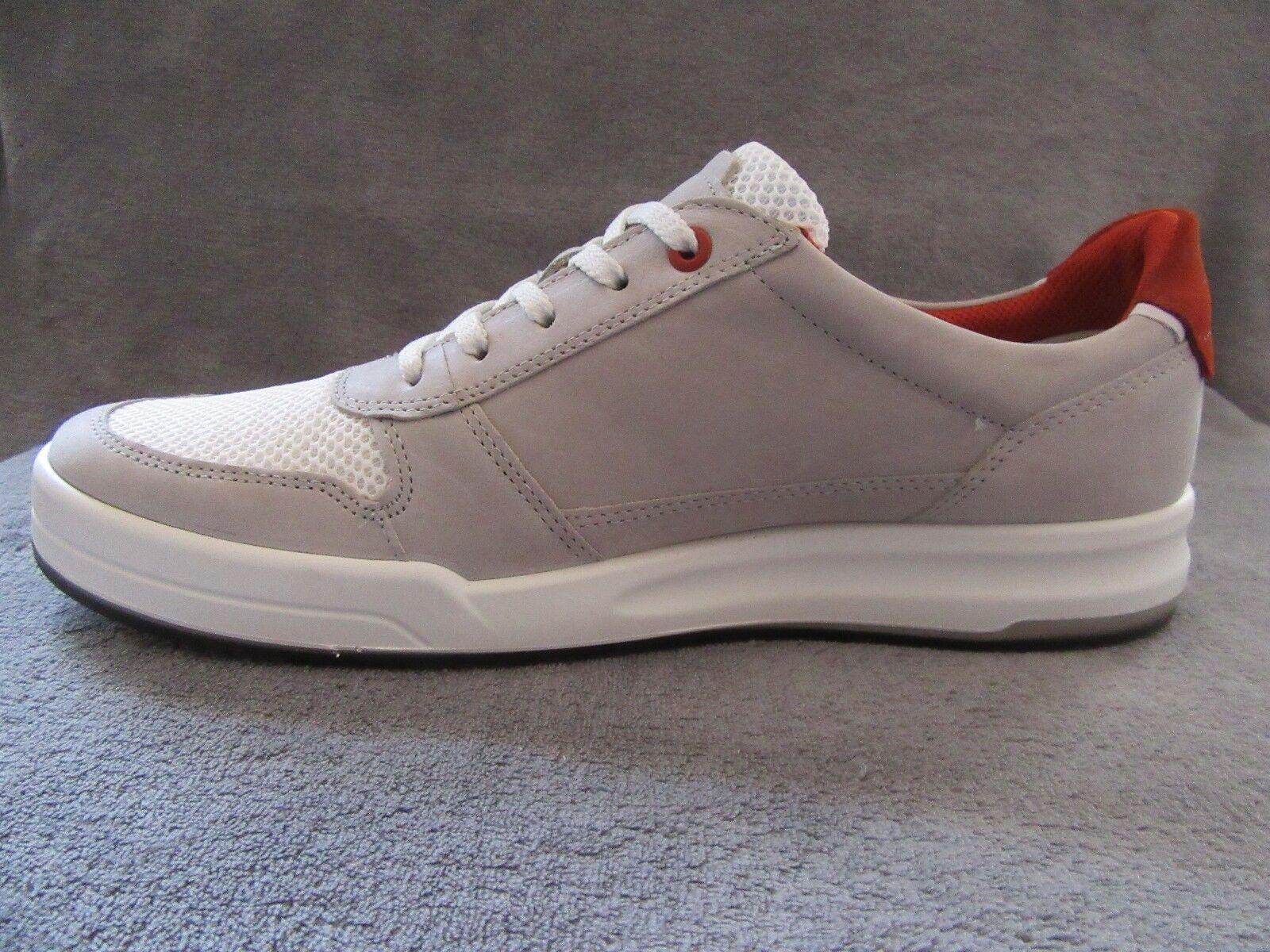 ECCO Jack Wild Dove White Pelle Tie  Shoes    Shoes 10 - 10.5 M EUR 44 NWB 3d186b