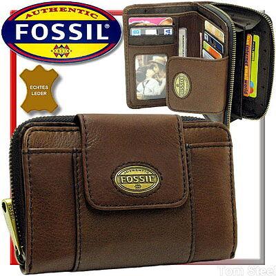 FOSSIL, Damen-Geldbörse - ESPRESSO - Geldbeutel, Portemonnaie, Börse, Purse, Neu
