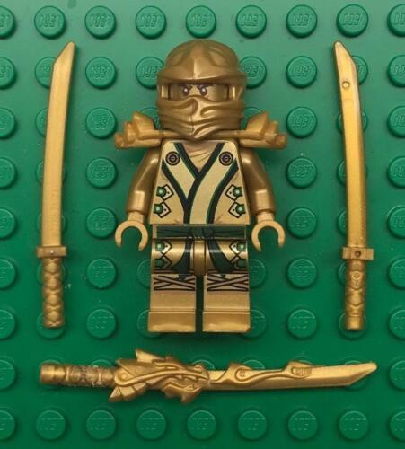 figure lot zx w// Dragon Guard Katana Lego Lloyd Golden Ninja Ninjago Minifig