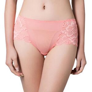 L-3XL-Women-Cotton-Lace-underwear-panties-briefs-seamless-plus-size-breathable