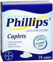 Phillips' Laxative Caplets 24 Caplets (pack Of 5) on sale