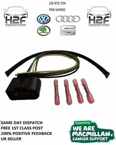 VW-4-pin-ignition-Coil-Connector-1J0-973-724-Pre-wired-FREE-1st-class-post