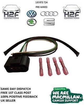 Bobina de ignición VW Conector Plug 1J0973724 Gratis 1st Class Post