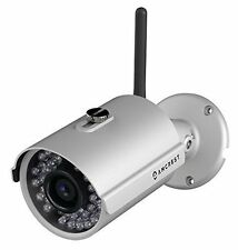 Amcrest IPM-722S 720P Silver Wireless Network IP Camera Outdoor Bullet Camera