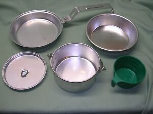 Campfire Girls Camping Mess Kit with Case, 5 Piece by Paco