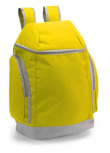 1 x Sac à dos ACCARA, jaune, sans publicité