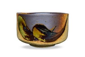 Japanese-Handcrafted-Matcha-Tea-Bowl-Brown-Matcha-Tea-Cup-CeremonyShigarakiOribe