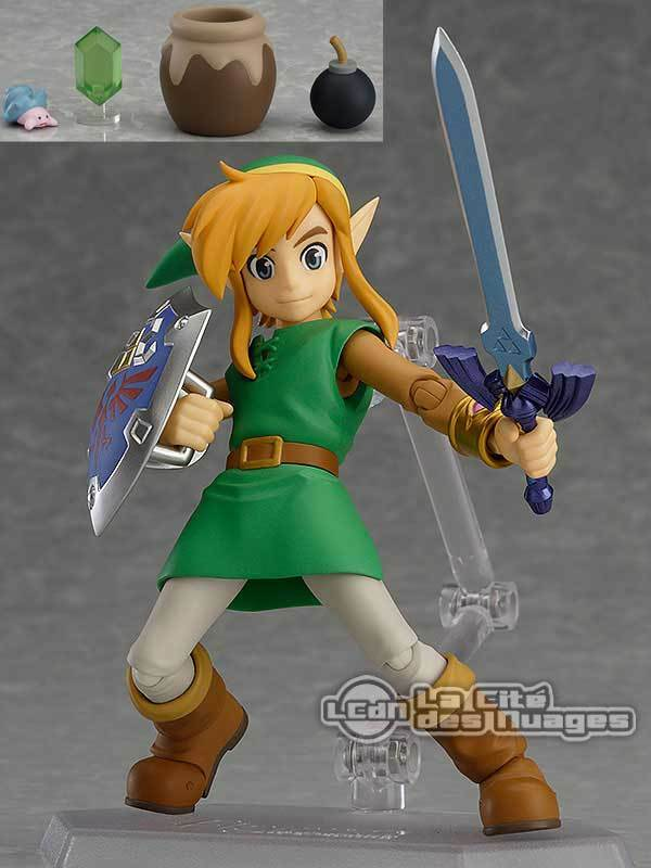 Figma The Legend of Zelda A Link Between Worlds Link Deluxe DX Figure 11cm