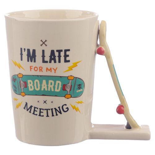 Tasse Skateboard Griff Kaffeetasse Kaffeebecher Tasse Frühstückstasse Geschenk