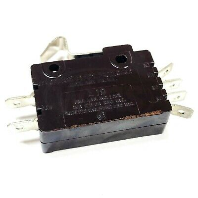2 MICROSWITCHES-125//250VAC //10 AMP// 1//2 hp// NO NC COM //Vabsco //snap switch//D42