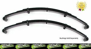 """Zone Offroad 2/"""" Front or Rear Leaf Springs Pair for 87-95 Jeep Wrangler YJ J0200"""