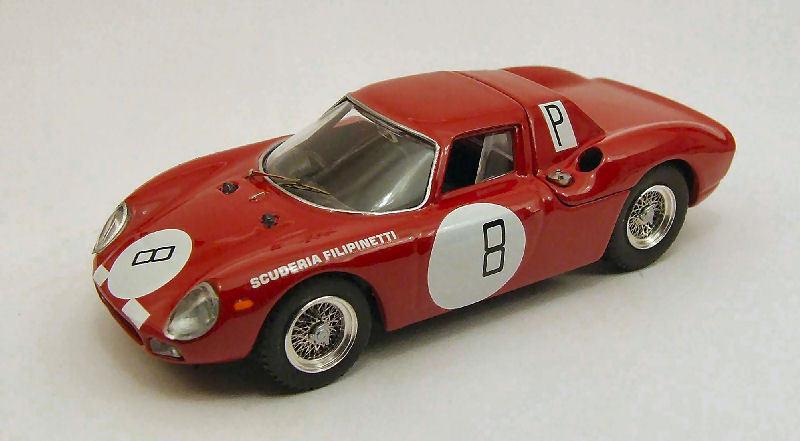 Ferrari 250 Lm th 1000 Km Nurburgring 1966 Muller   Mairesse 1 43 Model