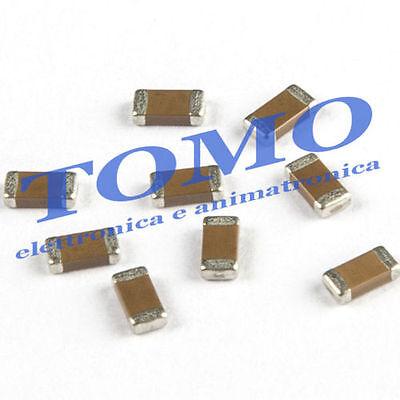 Lotto di 10 pezzi x Condensatore multistrato 2,2nF 2,2 n F 50V 50 V