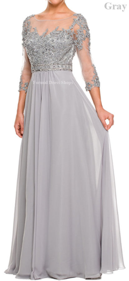 Demure Evening Gown Special Occasion Mother Of The Bride Long Dress
