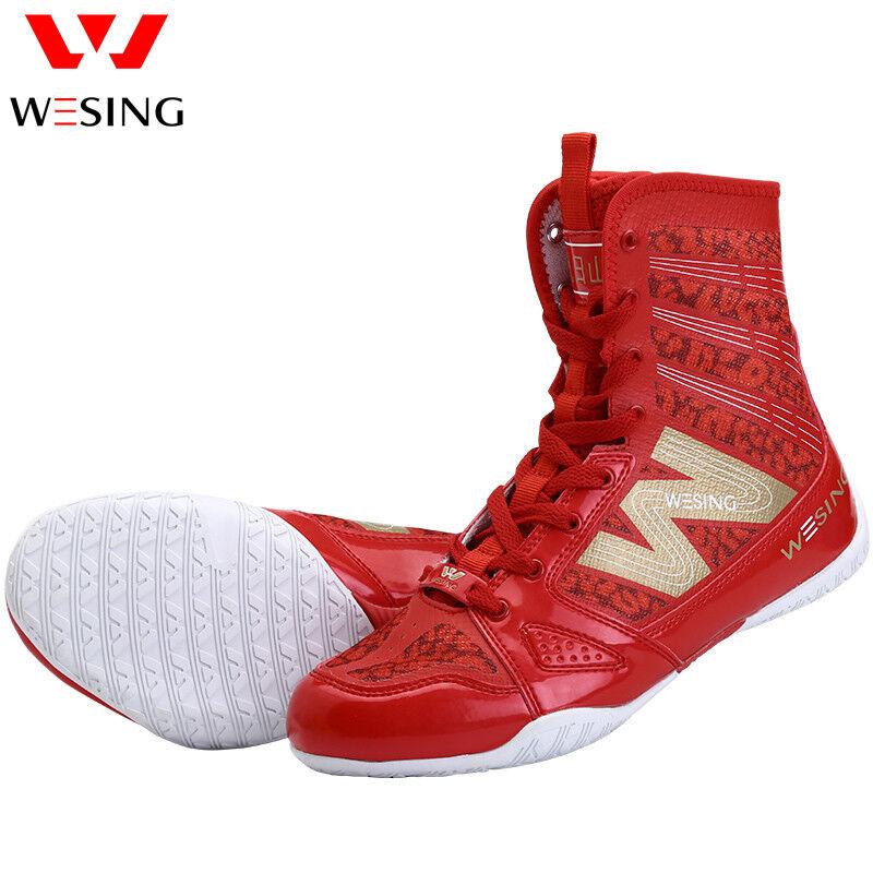 Boxing High -top Schuhe unisex MMA Spitzenschuhe Sparring Training