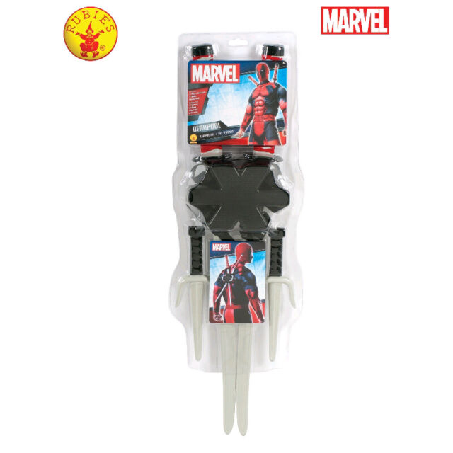 Rubie's Licensed Deadpool Weapon Dress Up Accessory Toy **FREE DELIVERY**